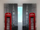 Läpinäkyvä verho LONDON TELEPHONE 240x220 cm ED-99395