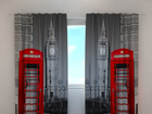 Poolpimendav kardin London telephone 240x220 cm ED-99396