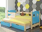 Lasten sänkysarja 2-lle 75x180 cm TF-99645