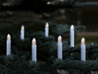 LED свечи на елку с таймером 16 шт