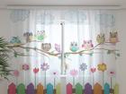 Sifonki-kuvaverho FUNNY OWL 240x220 cm ED-99999