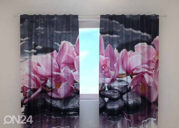 Poolpimendav kardin Orchid 1, 240x220 cm ED-100441