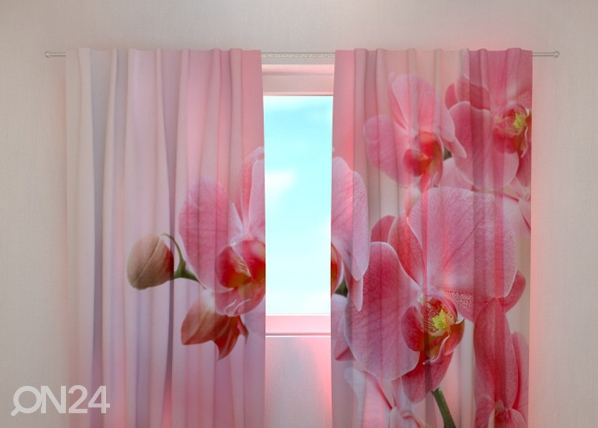 Poolpimendav kardin Pink orchid 240x220 cm ED-100457