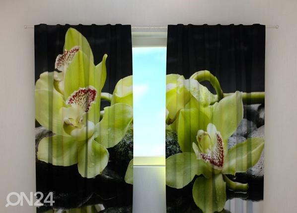 Pimendav kardin Citreous orchids 240x220 cm ED-100492
