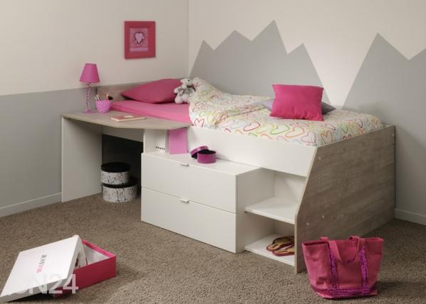 Кровать-чердак Milky 90x200 cm MA-102224