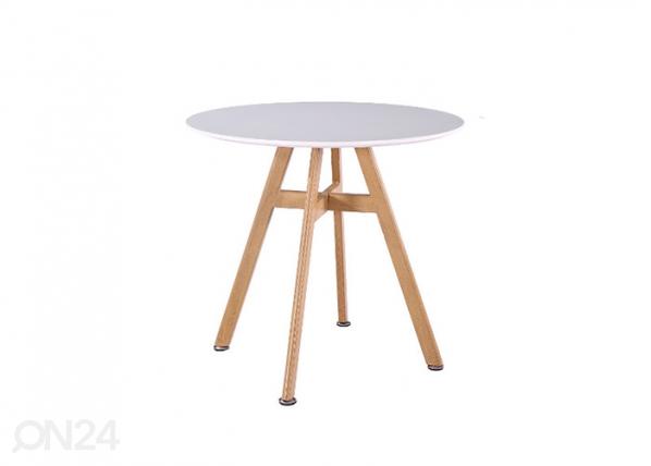 Ruokapöytä KAYTLIN Ø 80 cm AQ-103374