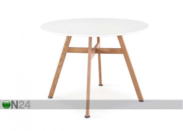 Ruokapöytä SHAWN Ø 100 cm AQ-103375
