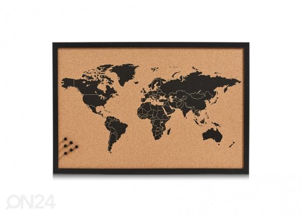Korktahvel World GB-103457