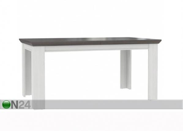 Jatkettava ruokapöytä 160-205x90 cm TF-105592