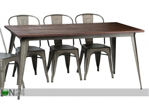 Ruokapöytä 160x80 cm RU-105715