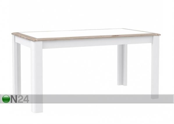 Jatkettava ruokapöytä 160-207x90 cm TF-106767