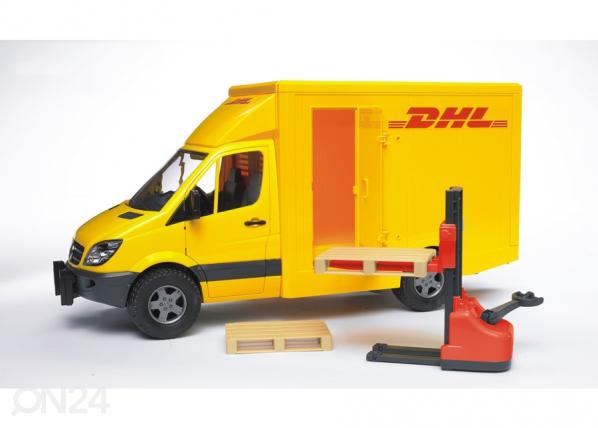 MB Sprinter DHL tõstukiga 1:16 Bruder KL-107101