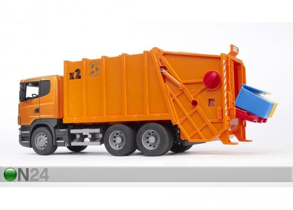 Scania prügiauto 1:16 Bruder KL-107179