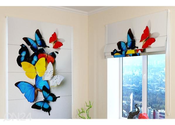 Pimendav roomakardin Colorful Butterflies ED-108602