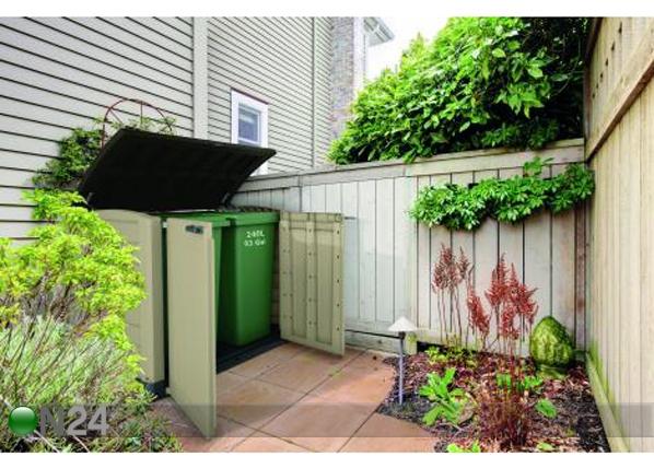 Säilytyslaatikko puutarhaan KETER ARC TE-108749