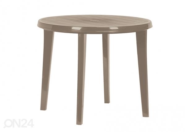 Muovinen puutarhapöytä KETER LISA, cappuccino TE-109216