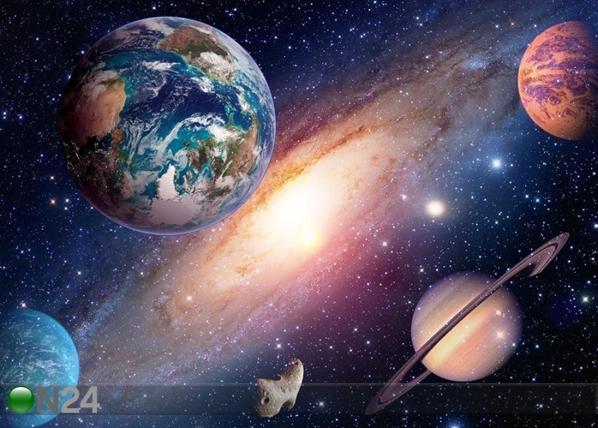 Fliis-fototapeet Universe 360x270 cm ED-109403