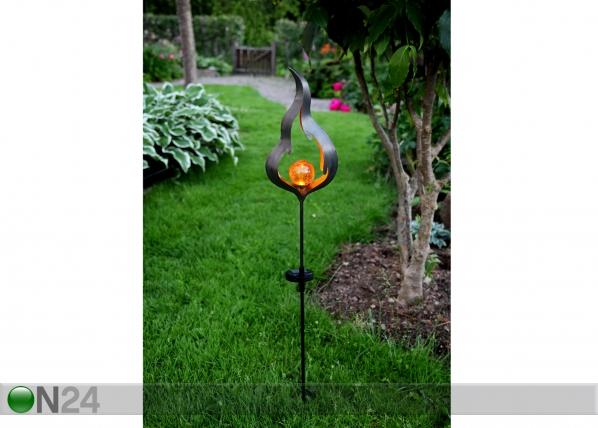 Puutarhavalaisin aurinkopaneelilla AA-109600