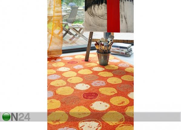 Narma newWeave® šenillvaip Veere orange NA-109790