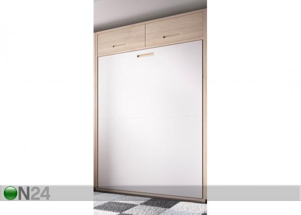 Seinäsänky 135x190 cm, pystysuora yläkaapeilla EX-111748