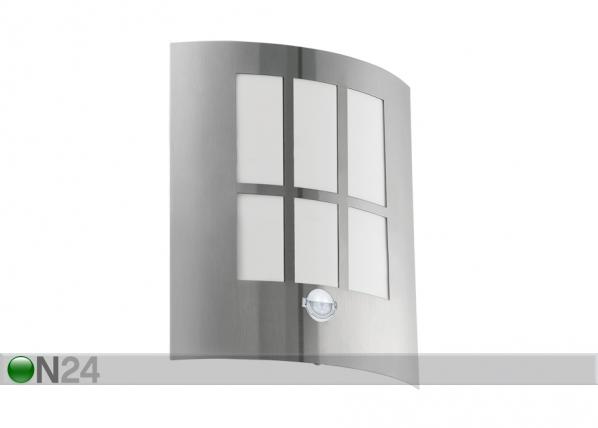 LED ulkovalaisin liikeanturilla CITY MV-111801