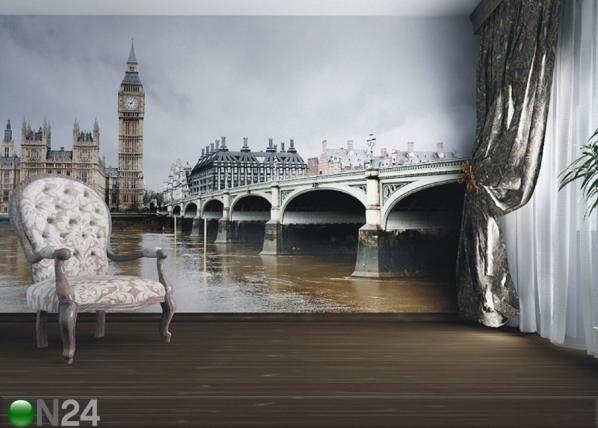 Fleece kuvatapetti LONDON 360x270 cm ED-112126