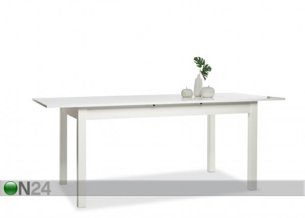 Jatkettava ruokapöytä COBURG 90x160-200 cm AY-112438