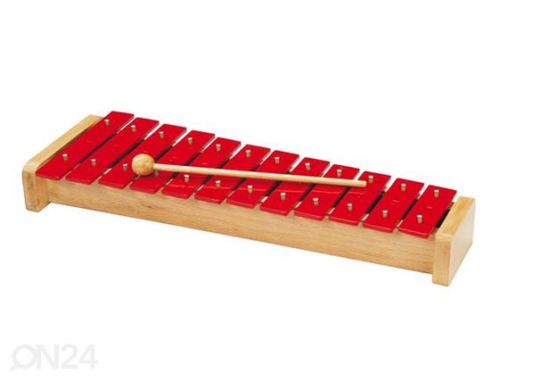 Metallinen ksylofoni 12 sävyä PU-113369