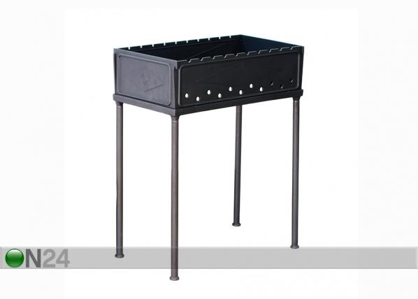 Kokoontaitettava valurauta grilli SYTON HU-114312