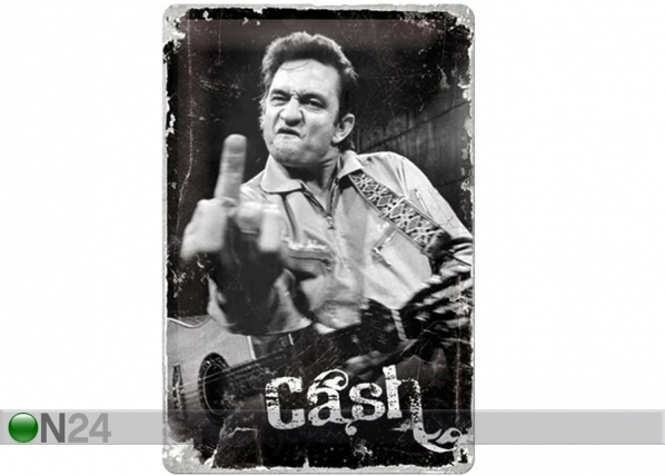 Retro metallposter Johnny Cash 20x30 cm SG-114841