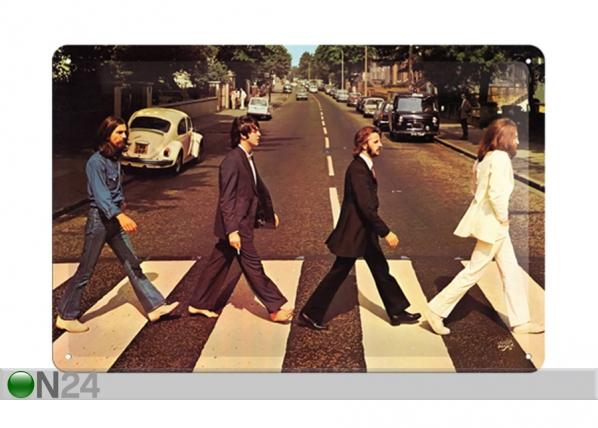Retro metallposter The Beatles Abbey Road 30x20 cm SG-114855