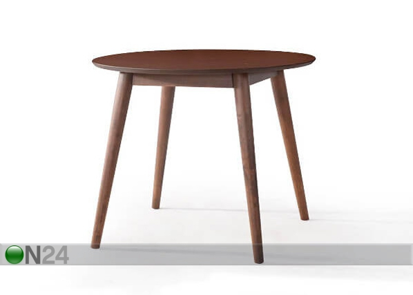 Ruokapöytä NUWARA Ø 90 cm AQ-115323