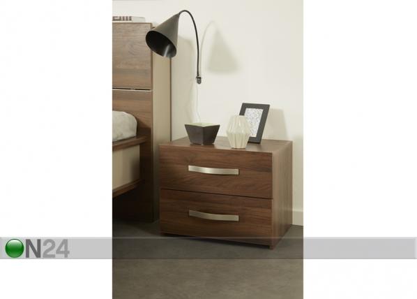 Yöpöytä BRERA WALNUT MA-115455