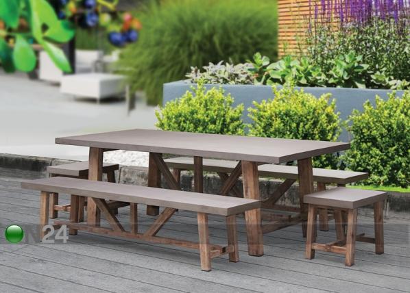 Pöytä SANDSTONE 220x100 cm EV-115729