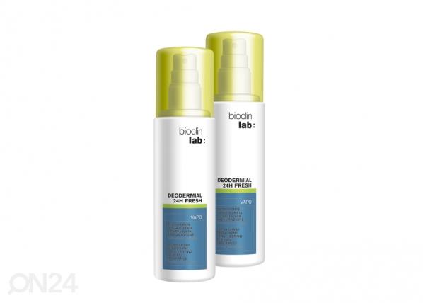 Deodorant värske lõhnaga Bioclin Lab 2x100ml TZ-116419