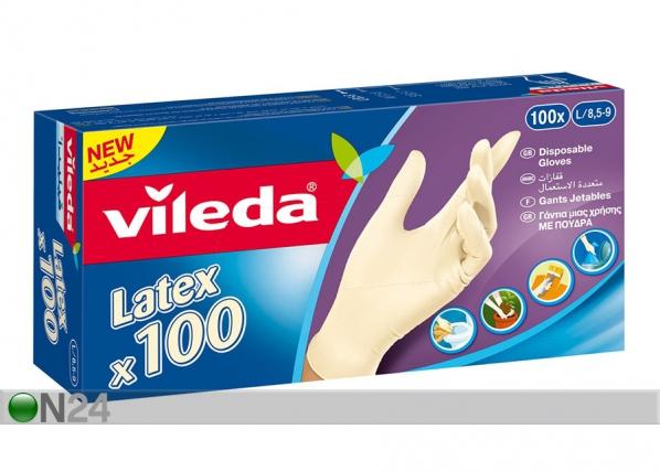 Kertakäyttökäyttökäsine VILEDA MULTI LATEX 100 kpl SY-117083