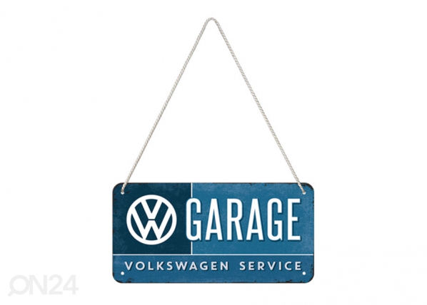 Retro metallposter VW Garage 10x20 cm SG-118406
