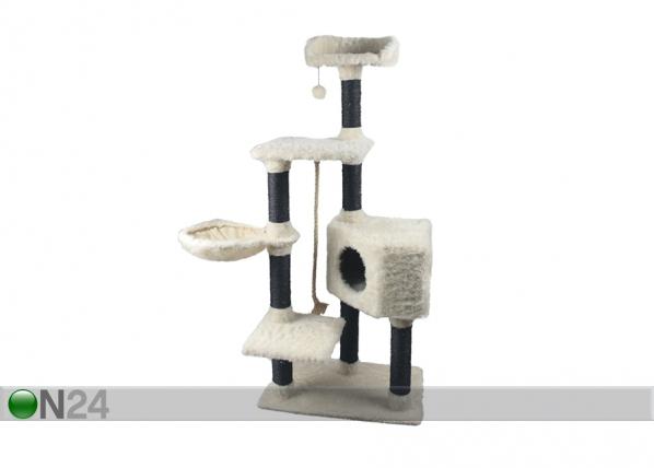 Kissan raapimispuu musta/valkoinen SG-118473