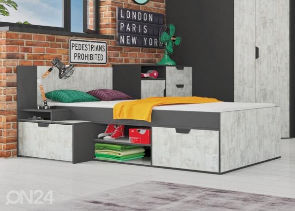 Кровать NaNo 90x200 cm CM-119408