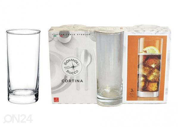 Juomalasi CORTINA, 3 kpl UR-119661