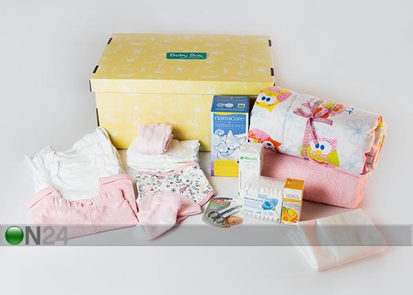 0-3 kuu vanuse beebitüdruku ja emme box BX-120110