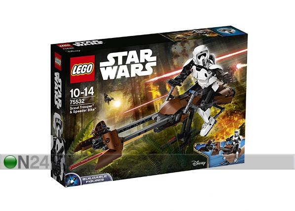 LEGO Star Wars Scout Trooper ja Speeder Bike RO-120498