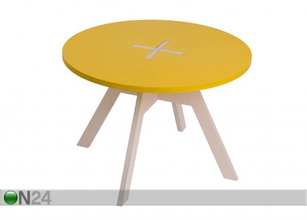 Sohvapöytä/lastenpöytä Ø 70 cm OK-121056