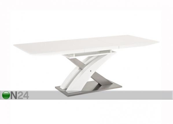Jatkettava ruokapöytä RAUL 85x140-180 cm WS-121554