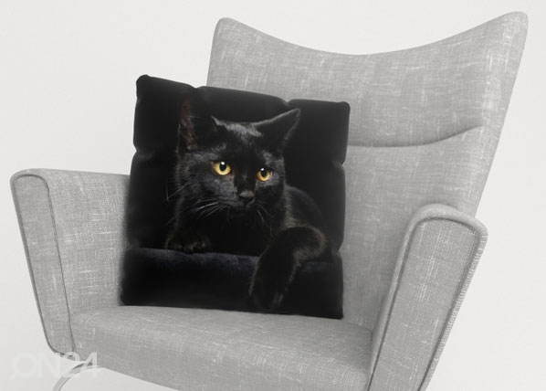 Koristetyynyliina BLACK CAT ED-122012