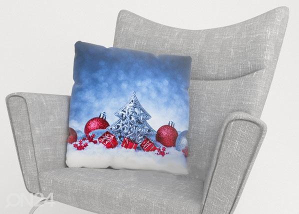 Koristetyynyliina CHRISTMAS SNOW ED-122646
