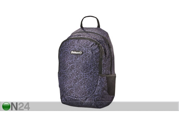 Koulureppu PELIKAN SKATER ORNAMENT BLACK BB-122762