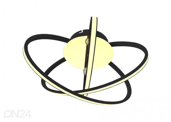 Laevalgusti Carrello Black LED A5-123236