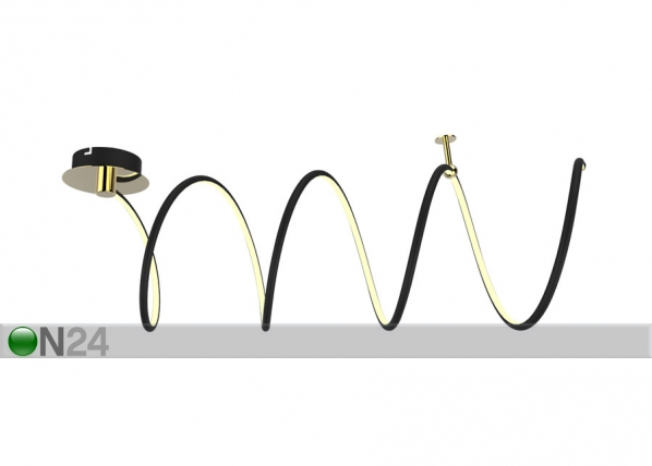 Laevalgusti Carrello Black-2 LED A5-123237