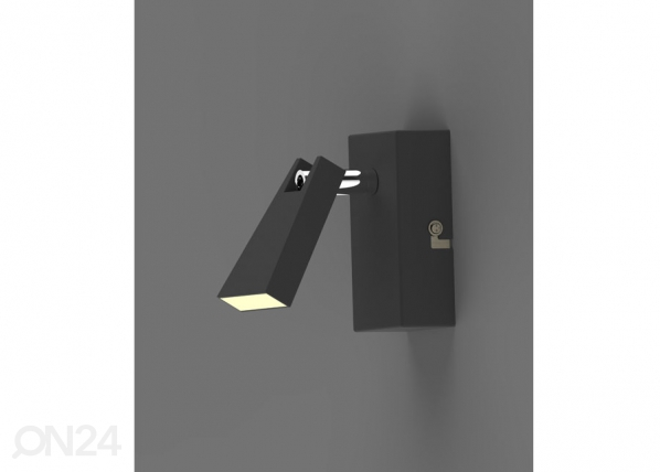Seinavalgusti Spazio Black LED A5-123295
